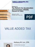 Fabian & Associates, CPAs-TRAIN- VAT, Percentage and Excise Tax