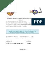Informe de Visita Tecnica Ie2