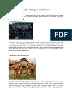 7 Suku Terasing Di Indonesia