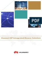 Huawei ISP Integrated Bearer Solution