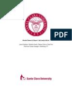 mktg 187 market research report