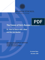 Future NATO Russian Relations Gordon Hendrickson