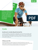 100km cycle Training Plan
