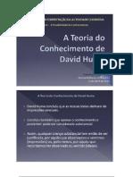 A Teoria do Conhecimento de David Hume