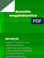 Anemiile Megalo