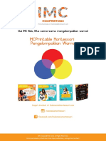 IMCPrintable Montessori Pengelompokkan Warna