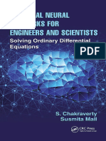 Artificial Neural Networks for Engineers and Scientists Solving Ordinary Differential Equations