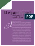 El Espacio Museal Como Agente de Cambio Social y Desarrollo