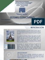 Sistemas Estructurales Proyecto de Estructuras