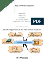 Business communication Script 1