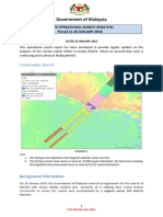 MH370 Operational Search Update - Weekly Report #1 - 21-28 January 2018