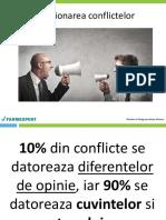 Workshop Gestionarea Conflictelor
