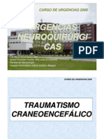 Urgencias neuroquirurgicas