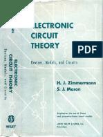 Zimmerman Mason 1959 Electronic Circuit Theory