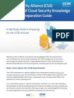 Ccsk v4 Prep Guide