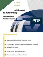 Case Study the Italcementi TX Active