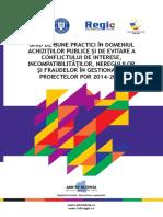 Ghid de Bune Practici in Domeniul Achizitiilor Publice Si de Evitare a Conflictului de Interese(1)