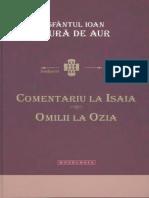 Sf.Ioan Gura de Aur - Comentarii la Isaia Omilii la Ozia.pdf