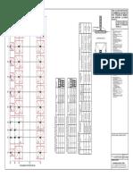 Column & Footing Plan