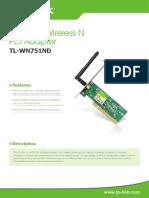 TL-WN751ND_V2.0_Datasheet