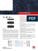 HUAWEI USG6600 Series Next-Generation Firewall Brochure