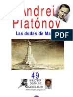 LAS DUDAS DE MAKAR, POR ANDREI PLATONOV, RUSIA