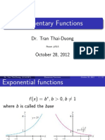 CI2 Elementary Functions