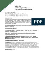Intro to EE -- Northwestern University