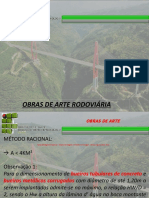 Aula 4 e 5 - Projeto de Drenagem e Dimensionamento e Método Racional Com Coef. de Retardo