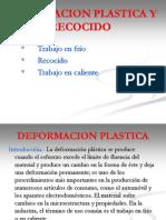 Deformacion Plastica y Recocido