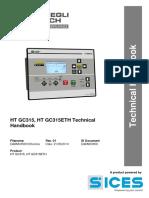 HT-GC315 Technical Handbook