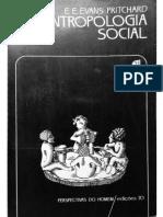 EVANS-PRITCHARD_ Antropologia Social