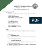 Inmovilización de Enzimas Por Adsorción y Por Atrapamiento.