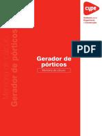 Gerador de Pórticos - Memoria de calculo - 2009.pdf