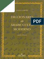 Diccionario de Arabe Culto Moderno - Julio Cortés