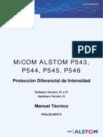 P54X - Manual Técnico Español