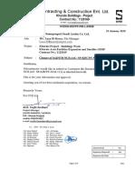 399 Closure of Saipem Ncr (Ref. Sp-khcpf-ncr-113)