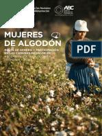 Mujeres de Algodón. Roles de género y participación en las cadena de valor de Argentina, Bolivia, Colombia Paraguay y Perú