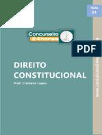 Direito Constitucional_esquema Prof Cristiano Lopes