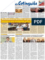 Gazeta Do Cotinguiba Edição 189 Janeiro de 2018