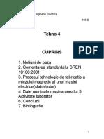 289936321 Procesul Tehnologic de Fabricatie a Miezului Magnetic Al Unei Masini Electrice 1