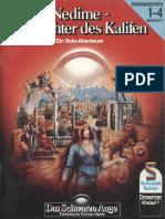DSA - Soloabenteuer - B05 (1985) - Nedime, Die Tochter Des Kalifen (Solo)