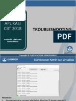 Troubleshooting Unbk 2018