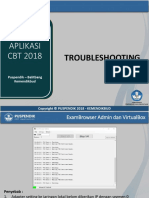 Troubleshooting Unbk 2018