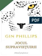 Gin Phillips - Jocul Supravietuirii (v.1.0)
