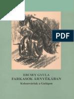 Ercsey Gyula Farkasok Árnyékában