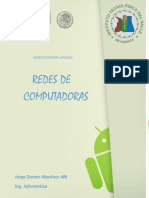 Redes de Computadoras Jorge Zarate