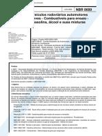 NBR 08689 - 2000 - Veículos Rodoviários Automotores Leves - Combustíves para Ensaio.pdf