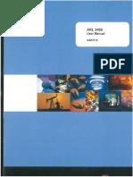 Thermo Scientific ARL 3460 Spectromer User Manual