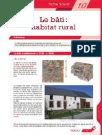 Le Bâti Habitat Rural